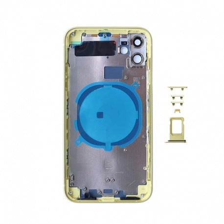 Back Cover for Apple iPhone 11 Yellow (Genuine)