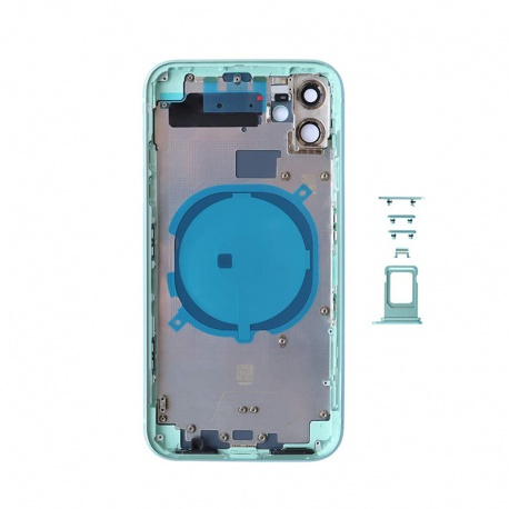 Back Cover for Apple iPhone 11 Green (Genuine)