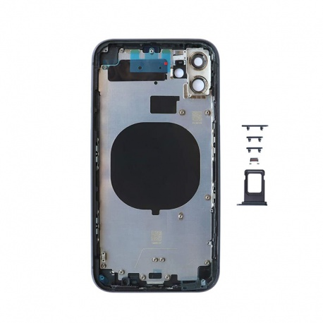 Back Cover for Apple iPhone 11 Black (Genuine)