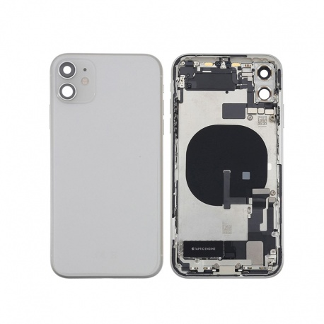 Back Cover Assembled for Apple iPhone 11 White (Genuine)