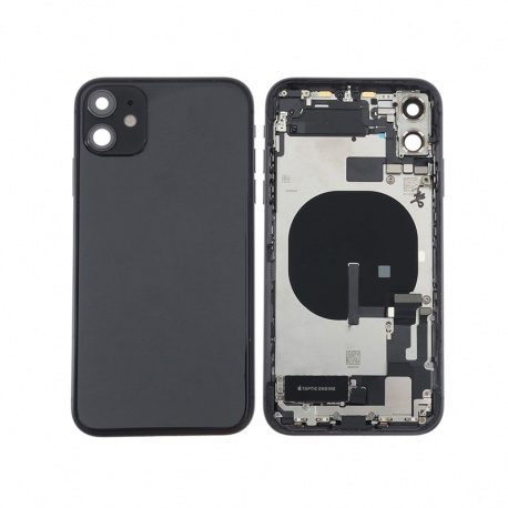 Back Cover Assembled for Apple iPhone 11 Black (Genuine)