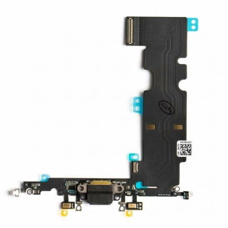 Charging Dock Connector Flex Black pro Apple iPhone 8 Plus