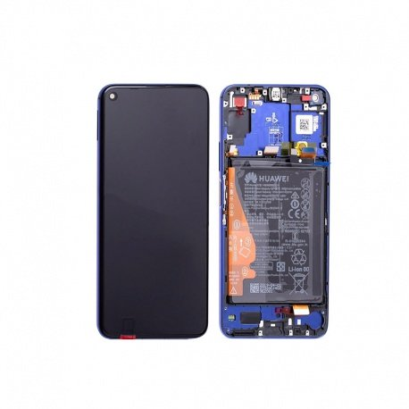 Honor 20 / Nova 5T LCD + Touch + Frame Blue (Service Pack)
