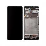 Samsung Galaxy A42 5G A426B LCD + Touch + Frame Prism Dot Black (Service Pack)