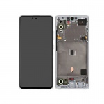 Samsung Galaxy A51 5G A516 LCD + Touch + Frame Prism Cube White (Service Pack)