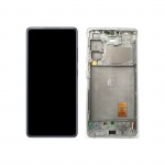Samsung Galaxy S20 FE 5G G781 LCD + Touch + Frame Cloud White (Service Pack)