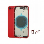 Back Cover for Apple iPhone SE 2020 Red