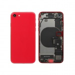 Back Cover Assembled for Apple iPhone SE 2020 Red