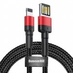 Baseus Cafule Cable (Special edition) USB For iP 2.4A 1m Red+Black