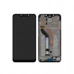 Xiaomi Pocophone F1 LCD + Touch + Frame (Assembled) - Black (OEM)