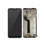 Xiaomi Mi A2 Lite LCD + Touch + Frame (Separated) Black (OEM)
