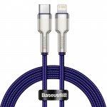 Baseus Cafule Series Metal Data Cable Type-C/Lightning PD 20W 1m Purple