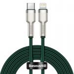 Baseus Cafule Series Metal Data Cable Type-C/Lightning PD 20W 2m Green