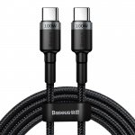 Baseus Cafule PD2.0 100W Flash Charging USB for Type-C Cable 2M Grey-Black