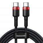 Baseus Cafule PD2.0 100W Flash Charging USB for Type-C Cable 2M Red-Black