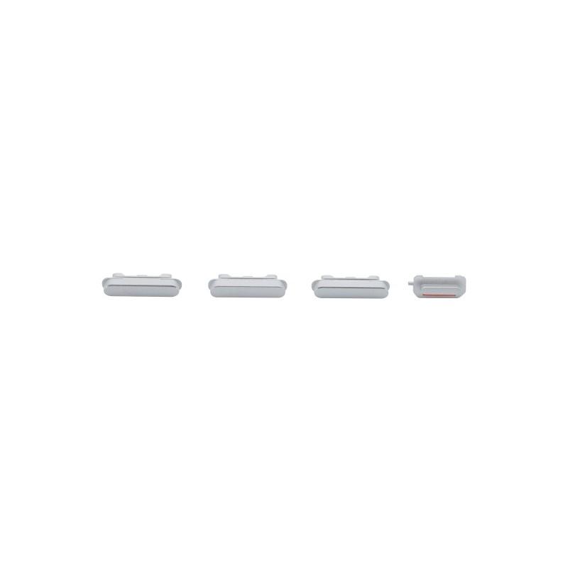 Boční tlačítka  Silver pro Apple iPhone 6 Plus