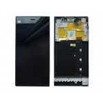 LCD + Touch + Frame (Assembled) pro Xiaomi Mi3 Black (OEM)