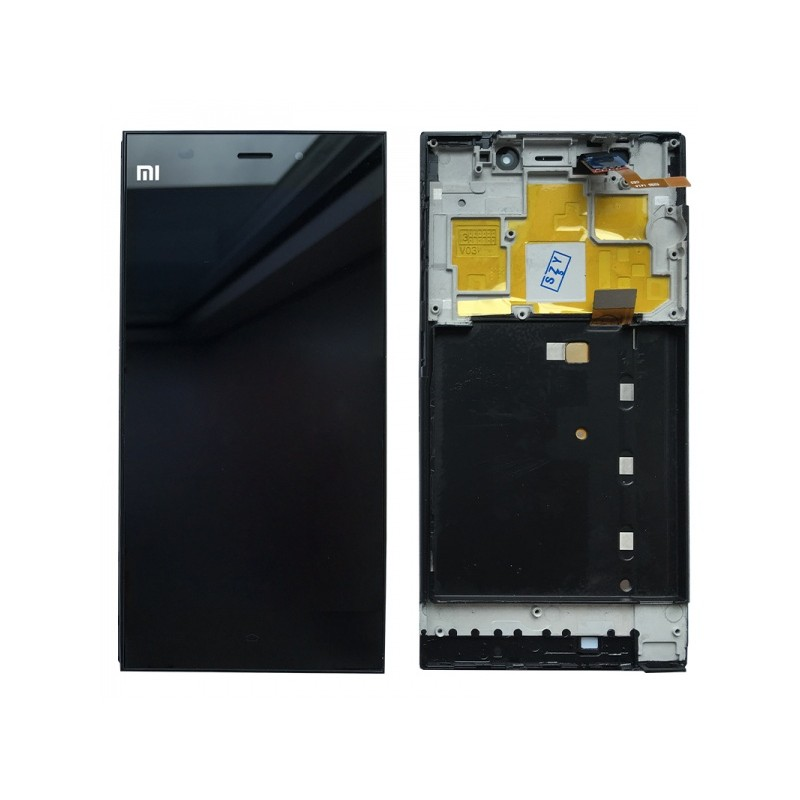 Xiaomi Mi3 LCD displej + dotyk + rám Black