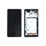Xiaomi Redmi Note 2 LCD + Touch + Frame (Assembled) - Black (OEM)
