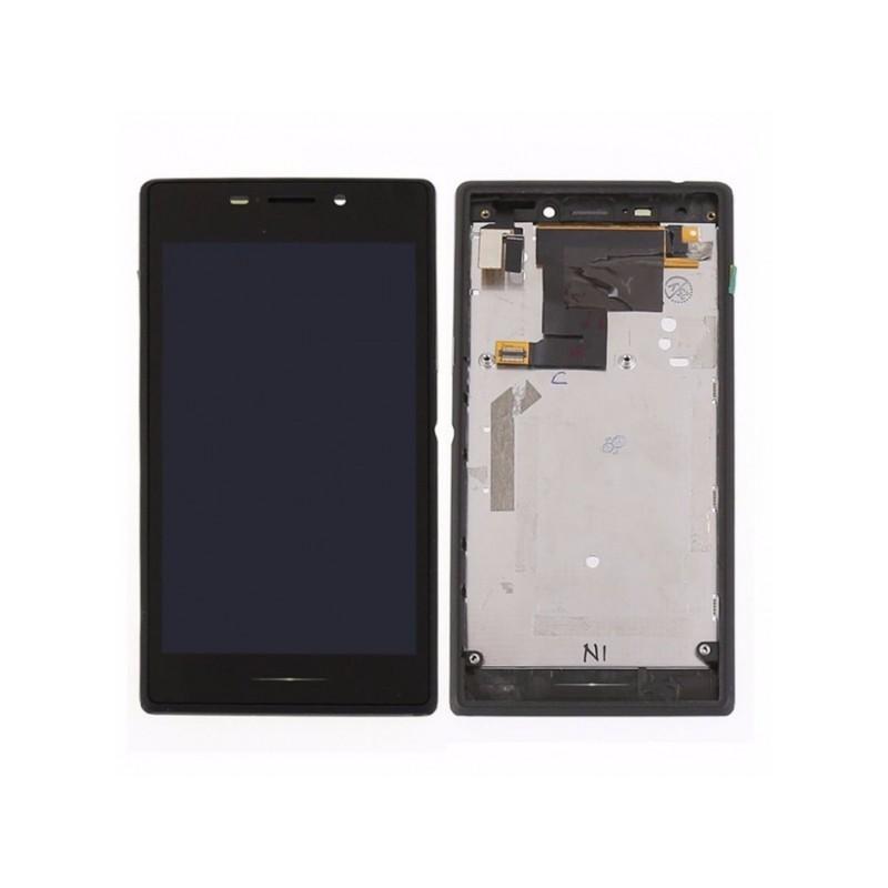 Sony Xperia M2 LCD displej + dotyk + rám Black