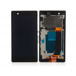 Sony Xperia M LCD + Touch + Frame Black