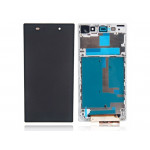 Sony Xperia Z1 LCD + Touch + Frame White
