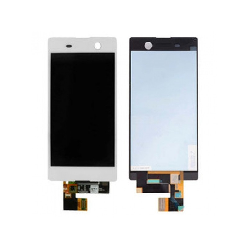 Sony Xperia M5 LCD displej + dotyk + rám White