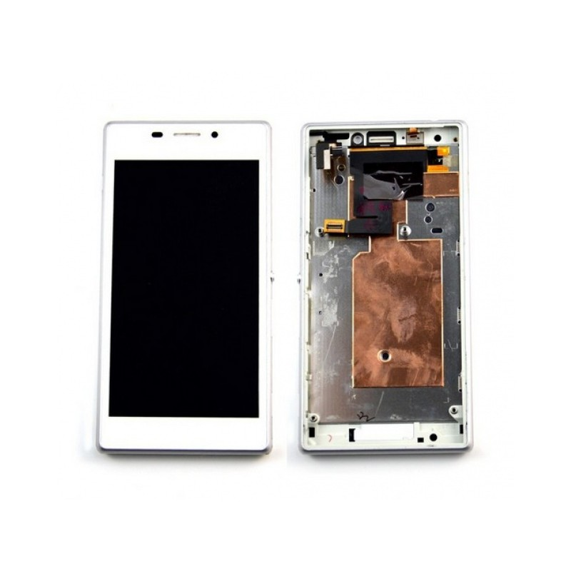 Sony Xperia M2 LCD displej + dotyk + rám White