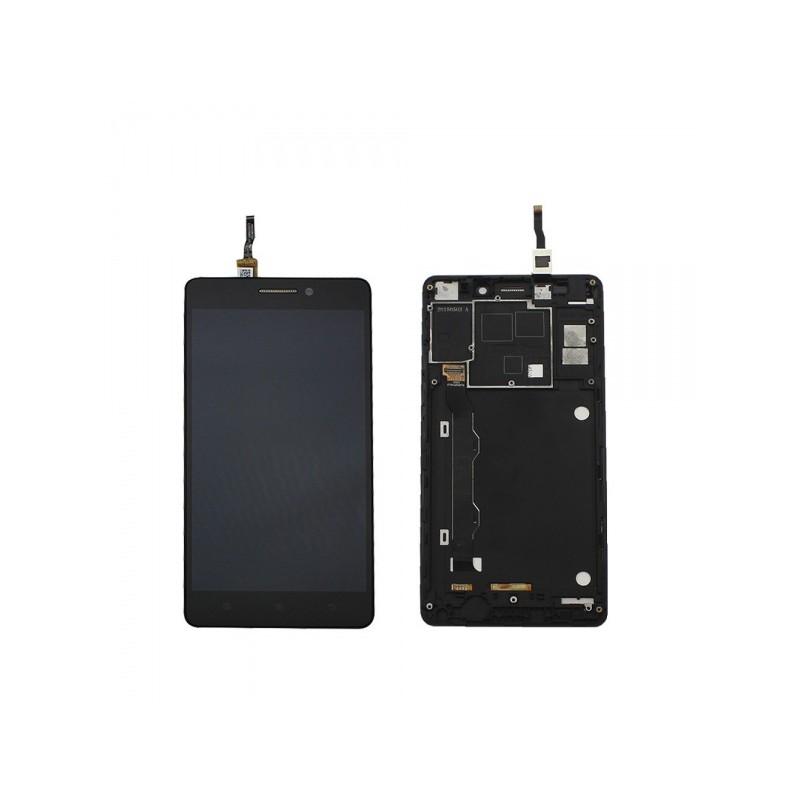 Lenovo K3 Note (K50-T5) LCD displej + dotyk + rám Black