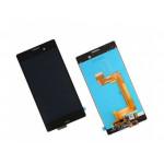 LCD + Touch + Frame (Assembled) pro Sony Xperia M4 Aqua (E2303) Black (OEM)