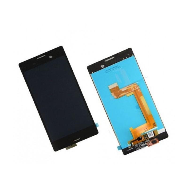 Sony M4 LCD displej + dotyk + rám Black