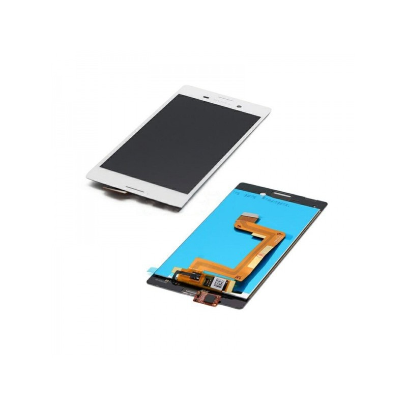 Sony M4 LCD displej + dotyk + rám White