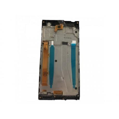 LCD + Touch + Frame (Assembled) pro Lenovo P70 Black (OEM)