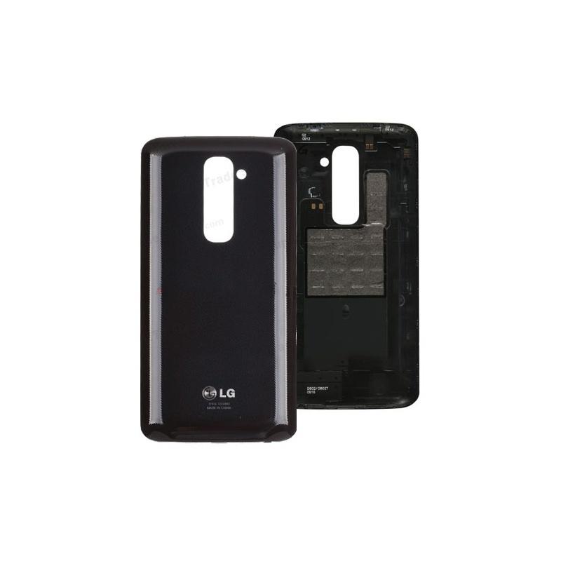 LG G2 (D800) Back Cover Black + NFC Antenna