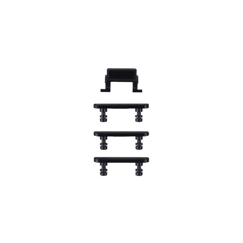 Side Buttons set (volume + power button) Jet Black pro Apple iPhone 7