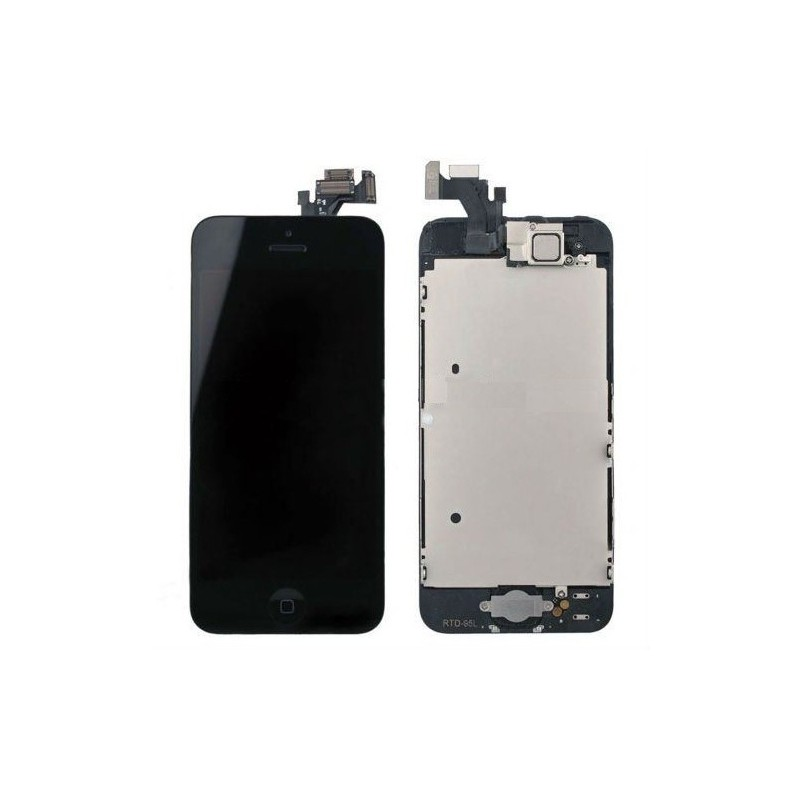 LCD + Touch Full Assembled (with home button) Black pro Apple iPhone 5