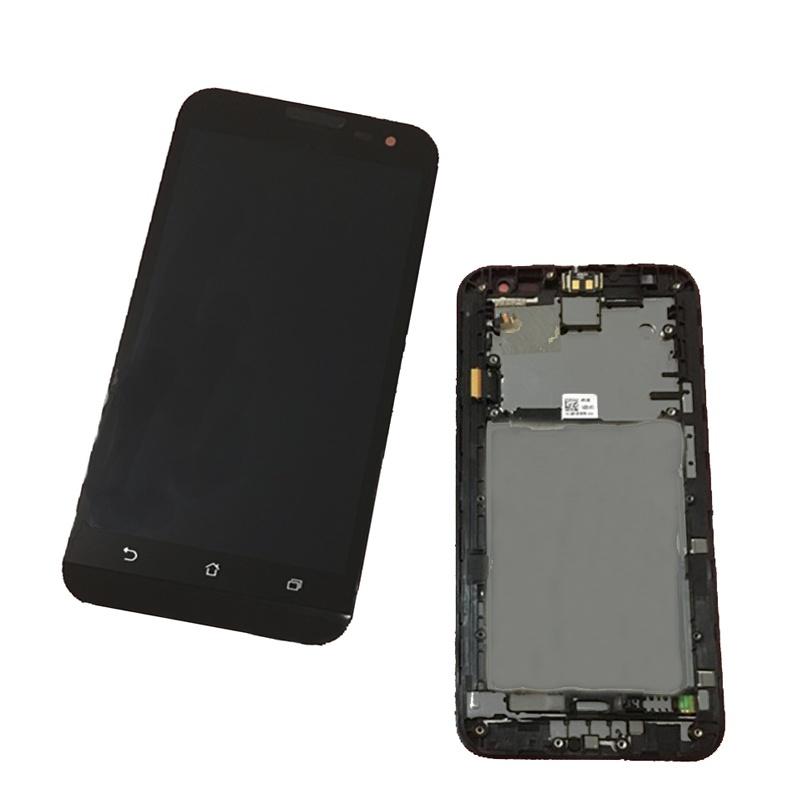 Asus Zenfone 2 Laser (ZE500KL) LCD displej + dotyk + rám Black