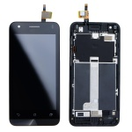 Asus Zenfone C LCD + Touch + Frame Black