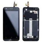 LCD + Touch + Frame (Assembled) pro Asus Zenfone C Black (OEM)