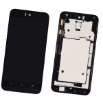 LCD + Touch + Frame (Assembled) pro Asus Zenfone Selfie (ZD551KL) Black (OEM)