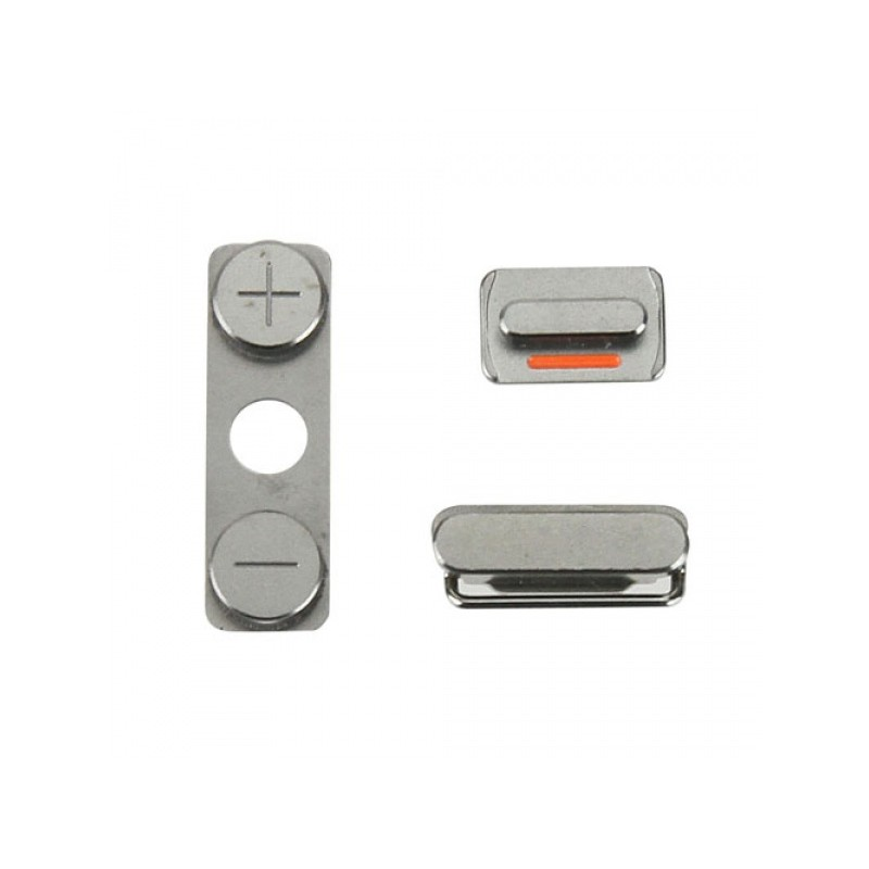 Side Buttons set (volume + power button) pro Apple iPhone 4S