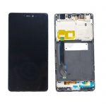 Xiaomi Mi4C LCD + Touch + Frame (Assembled) - Black (OEM)