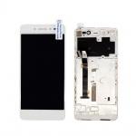 LCD + Touch + Frame (Assembled) pro Lenovo S90 White (OEM)