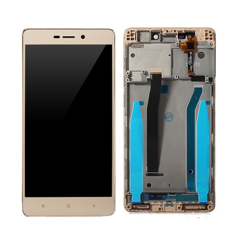 Xiaomi Redmi 3S LCD displej + dotyk + rám Gold