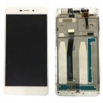 Xiaomi Redmi 4A LCD + Touch + Frame (Assembled) - White (OEM)