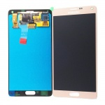 LCD + Touch pro Samsung Galaxy Note 4 Gold (OEM)