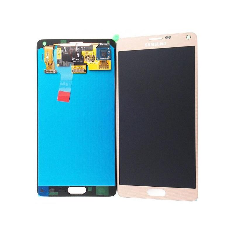Note 4 LCD displej +dotyk Gold