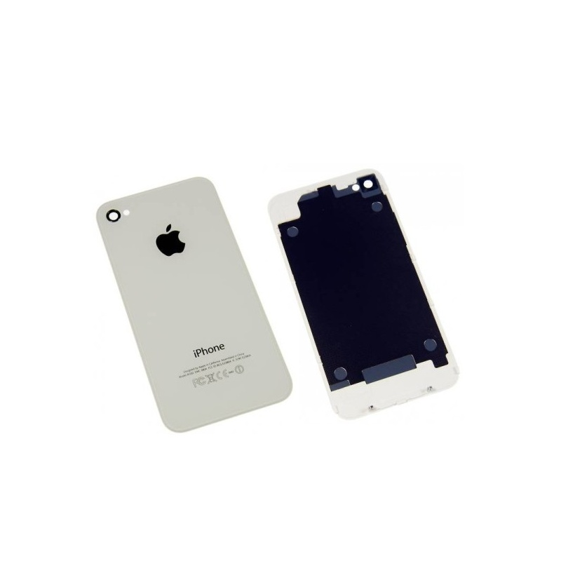Back Cover White pro Apple iPhone 4S