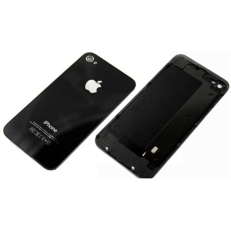 Back Cover Black pro Apple iPhone 4