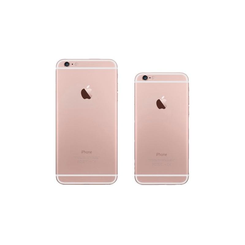 Zadní kryt pro Apple iPhone 6-Rose Gold  ee85bba722b